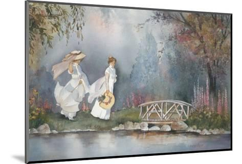 These Ladies with Hats-Armande Langelier-Mounted Art Print