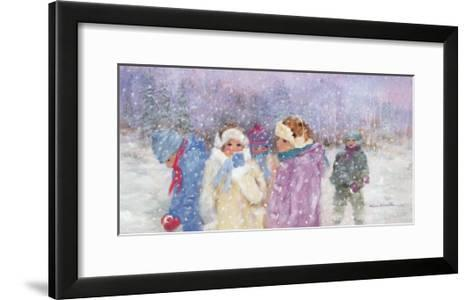 Under the Snow Flakes-H?l?ne L?veill?e-Framed Art Print