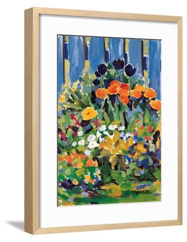 The Small Garden-Anne Marrec-Framed Art Print