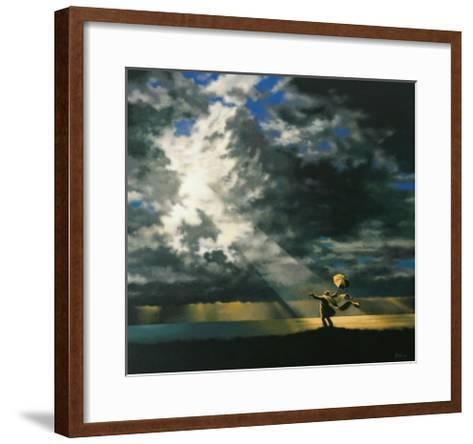 The End of the Flood-Claude Theberge-Framed Art Print