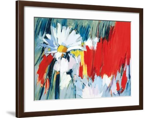 Daisies in Basic Colors-Madeleine Lemaire-Framed Art Print
