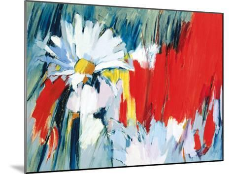 Daisies in Basic Colors-Madeleine Lemaire-Mounted Art Print