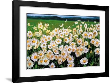 I Love Daisies-Liliane Fournier-Framed Art Print