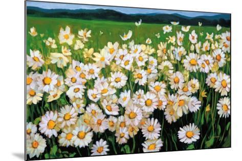 I Love Daisies-Liliane Fournier-Mounted Art Print