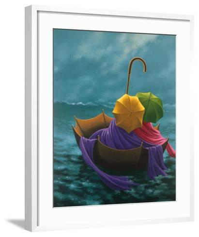 Shipwrecked-Claude Theberge-Framed Art Print