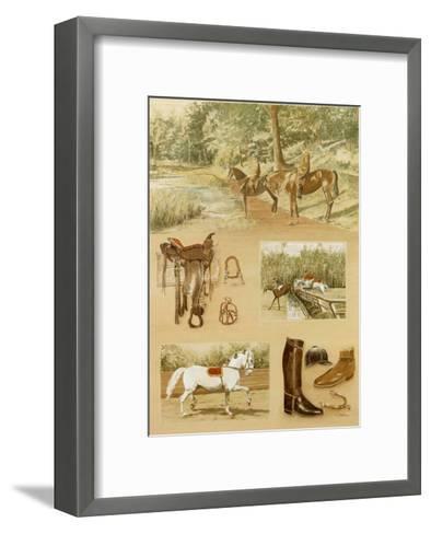Promenade-Laurence David-Framed Art Print