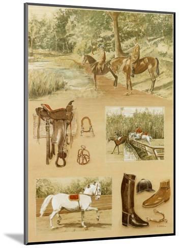 Promenade-Laurence David-Mounted Art Print