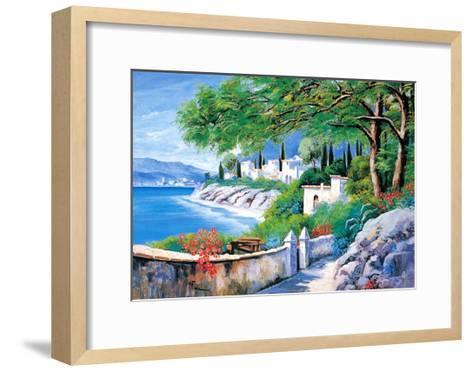 Italian River III-V^ Lopasso-Framed Art Print