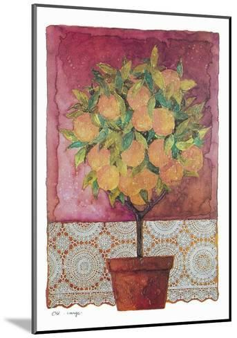 Blossom Time III-C^ Wurzig-Mounted Art Print