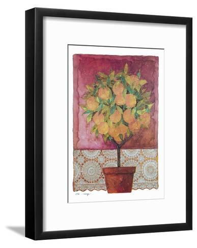 Blossom Time III-C^ Wurzig-Framed Art Print