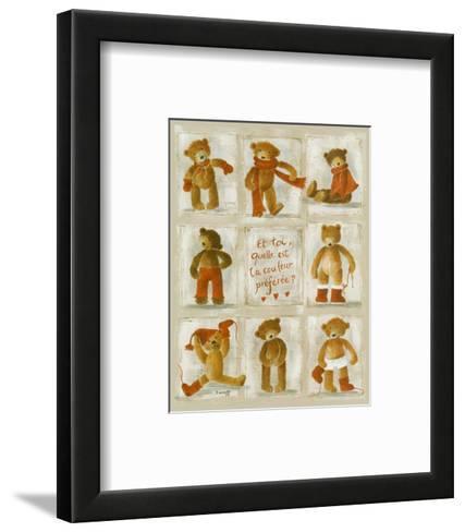 Ma Couleur Preferee-Jo?lle Wolff-Framed Art Print