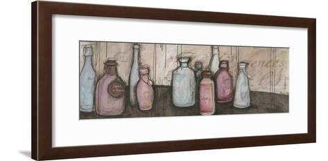 Bouteilles et Essence-Alexandra Breda-Framed Art Print