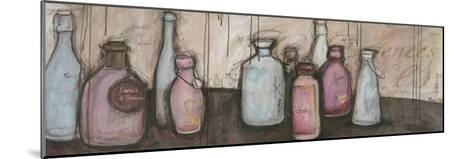Bouteilles et Essence-Alexandra Breda-Mounted Art Print