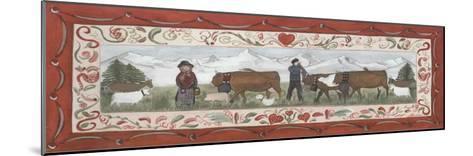 Fermiers et Animaux-Nathalie Renzacci-Mounted Art Print