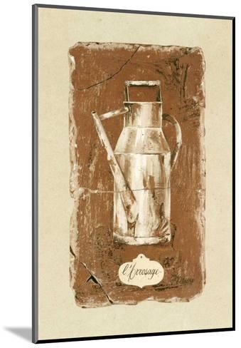 L'Arrosage-Pascal Cessou-Mounted Art Print