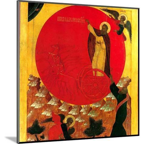Montee au Ciel du Prohete Elie--Mounted Art Print