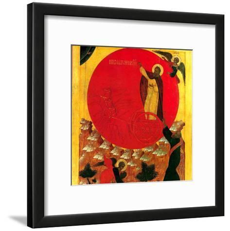 Montee au Ciel du Prohete Elie--Framed Art Print