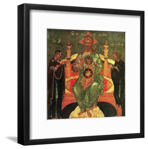 La Paternite--Framed Art Print