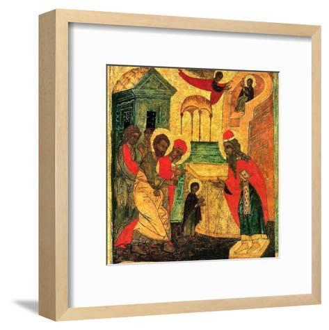 Presentation au Temple II--Framed Art Print