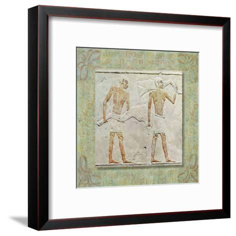 Egiptyan Graffiti II--Framed Art Print