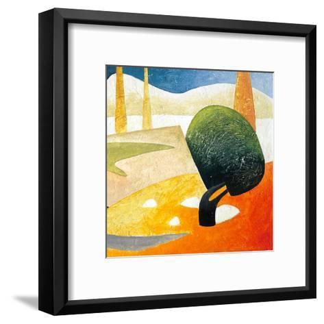 A Gust of Wind II-Marko Viridis-Framed Art Print
