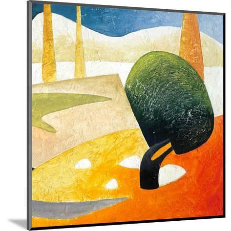A Gust of Wind II-Marko Viridis-Mounted Art Print