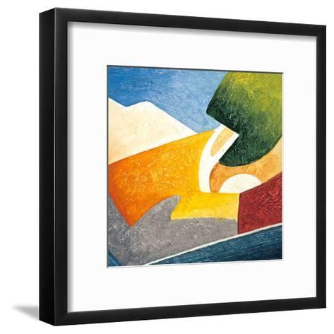 A Gust of Wind IV-Marko Viridis-Framed Art Print