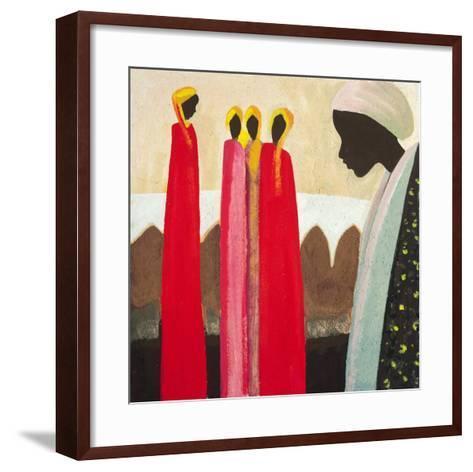 The Family I-Jerome Obote-Framed Art Print