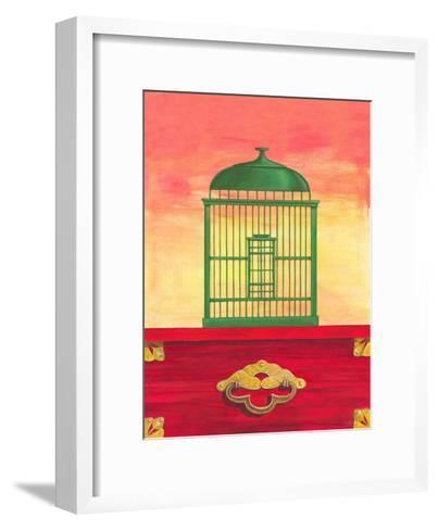 Birds Chage II-Diego Patrian-Framed Art Print