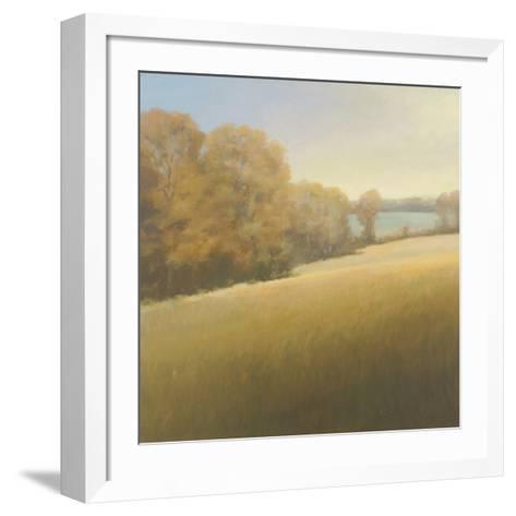 Distant Lake-Stephen Bach-Framed Art Print