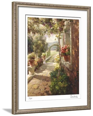 Stone Path-Roberto Lombardi-Framed Art Print