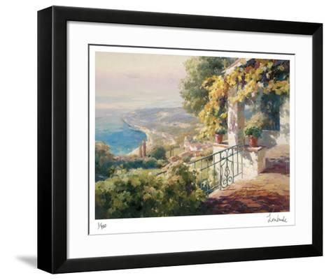 Balcony Paradiso I-Roberto Lombardi-Framed Art Print