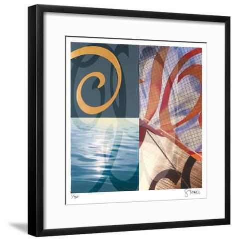 A Streak of Velocity-Scott Sandell-Framed Art Print