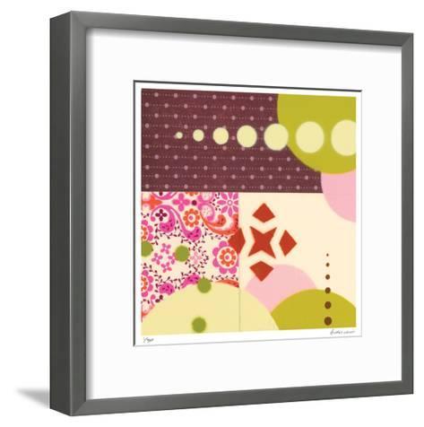Random Thoughts 498-Audrey Welch-Framed Art Print