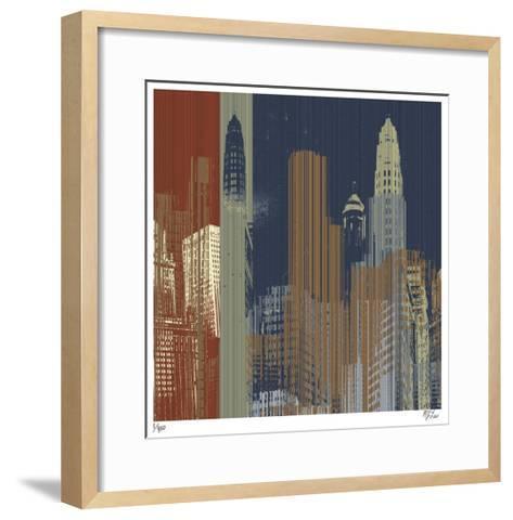 Urban Colors II-Mj Lew-Framed Art Print