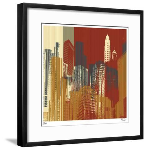 Urban Colors III-Mj Lew-Framed Art Print