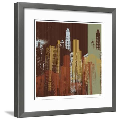 Urban Colors IV-Mj Lew-Framed Art Print