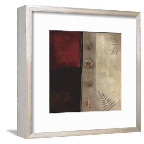 Russet Fern I-Laurie Maitland-Framed Art Print
