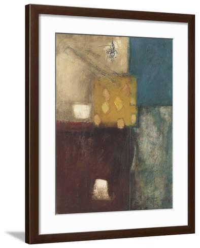 Structure II-Mary Beth Thorngren-Framed Art Print