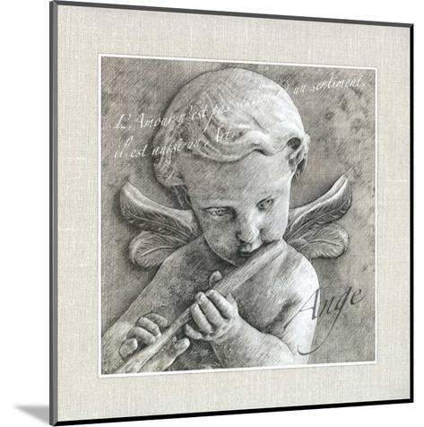Ange--Mounted Art Print