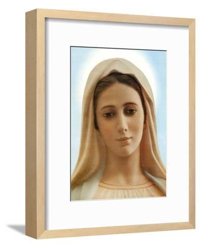 Virgin Mary--Framed Art Print