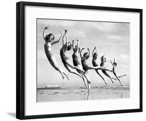 Lillian Newman's Dancers--Framed Art Print