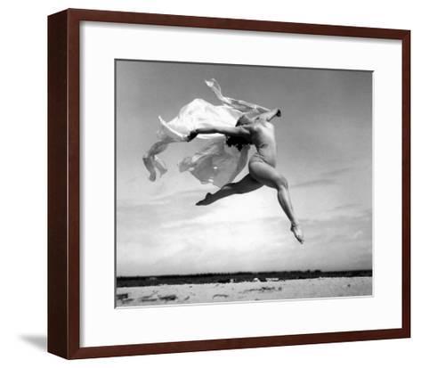 Exhuberant Soaring Dance--Framed Art Print