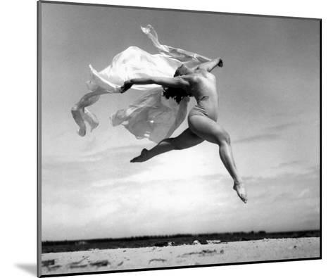 Exhuberant Soaring Dance--Mounted Giclee Print