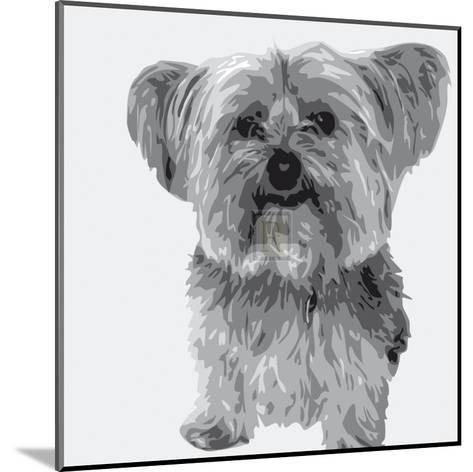 Yorkie-Emily Burrowes-Mounted Art Print