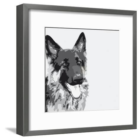 Shepherd-Emily Burrowes-Framed Art Print