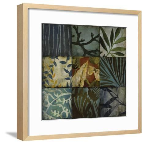 Tile Patterns II-John Douglas-Framed Art Print