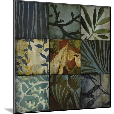 Tile Patterns II-John Douglas-Mounted Art Print