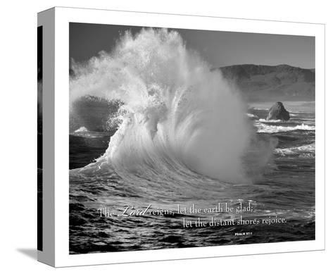 The Lord Reigns-Dennis Frates-Stretched Canvas Print