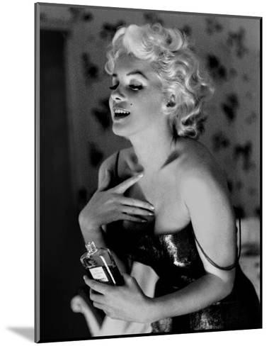 Marilyn Monroe, Chanel No.5-Ed Feingersh-Mounted Art Print
